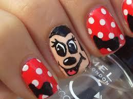 mickey and minnie nail art u2013 slybury com