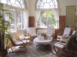 Pier 1 Rocking Chair Furniture Rattan Indoor Sunroom Furniture With Cushions And Beige