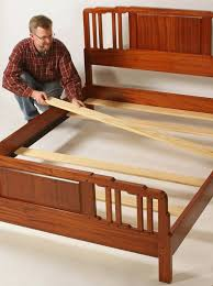 How To Build A Queen Size Platform Bed With Storage by Bed Slats Woodworker U0027s Journal How To