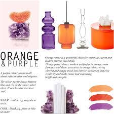 colour challenge deep purple u0026 burnt orange decor polyvore