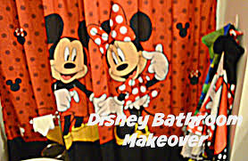 decorate with me small bathroom ideas disney mickey mouse
