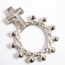 rosary rings rosary ring one decade rosary one decade rosary ring
