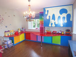 interior design awesome colorful kids room toy storage with