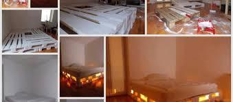 diy light up pallet bed frames diy avenue