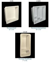 Ceramic Bathroom Shelves Recessed Ceramic Soap Dishes More In 33 Colors From Hcp