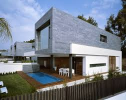 Contemporary Housing 6 Semi Detached Homes United By Matching Contemporary Architecture