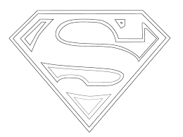 superman coloring pages logo coloring pages theotix