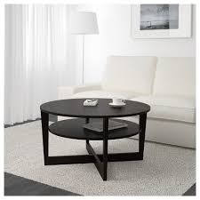 Dining Room Tables Ikea by Vejmon Coffee Table Black Brown Ikea
