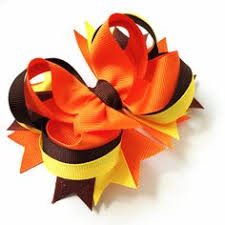 thanksgiving hair bows diy back to school hair bow so https www