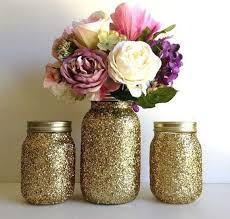 jar vases 10 glitter jar vase ideas for your home