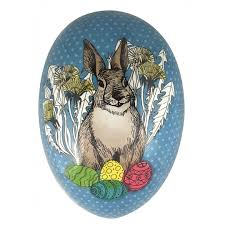 paper mache easter baskets papier mache eggs from germany