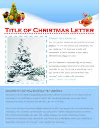 christmas letter template word free lease format free invitation
