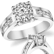 wide band engagement rings forever brilliant moissanite wide band engagement ring