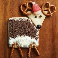 santa and reindeer christmas cookies cinnamon candy resealable
