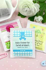 tea bag party favors baby shower tea bag favors
