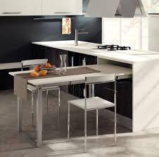 table cuisine retractable table cuisine escamotable tiroir meuble avec newsindo co
