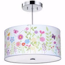girls room light fixture flowers birdies light fixture girls room lighting