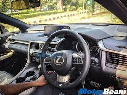 lexus rx interior lexus rx 450h spied in delhi deliveries commence in early 2017