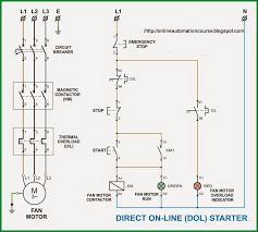 motor starter wiring control circuit efcaviation com