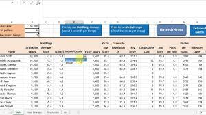 Golf Stat Tracker Spreadsheet Daily Golf Spreadsheet Tool Help Version 2