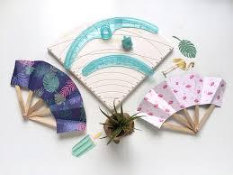 diy fans diy paper fans we r memory keepers
