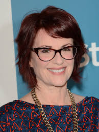 red hair for over 50 megan mullally s short hairstyle haute hairstyles for women over