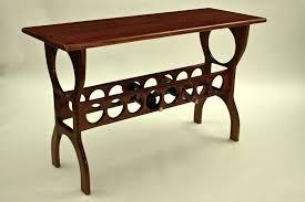 sofa table with wine rack handmade mahogany sofa table with wine rack by triton s choice fine
