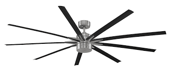84 inch ceiling fan amazon com fanimation fpd8148bn odyn led ceiling fan 84 inch