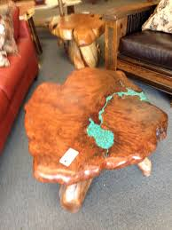 tree trunk coffee table glass top bedroom furniture chair sets