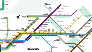 Nyc Mta Map Future Map Futurenycsubway By Vanshnookenraggen Transit Maps