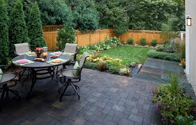 Backyard Stone Ideas Contemporary Patio Paver Designs With Walnut Color How To Lay A