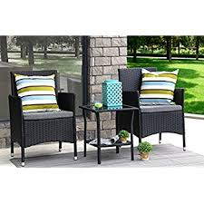 Where To Buy Patio Cushions by Amazon Com Ids Home 3 Piece Compact Outdoor Indoor Garden Patio