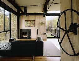 Small House Interior Photos Delta Shelter Olson Kundig Archdaily