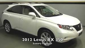 lexus dealership in virginia 2012 lexus rx 350 luxury package in richmond virginia l150150a