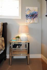 nightstand beautiful bedside table with short hairpin legs diy