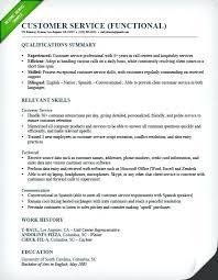 functional resume sles for career change career summary for customer service sle resume for a career