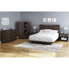 south shore basics full platform bed with molding 54 u0027 u0027 multiple