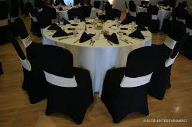 black and white chair covers decoration fascinating black and white wedding table decoration
