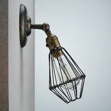 Industrial Guard Sconce by Claxy Ecopower Industrial Opening And Closing Light Wall Sconce