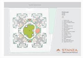 Podium Floor Plan by Samarth Buildcon