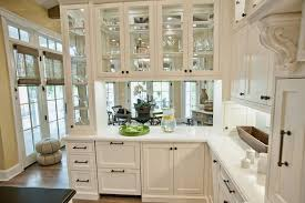 extended cabinets kitchen traditional with glass front traditional
