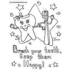 Top 10 Free Printabe Dental Coloring Pages Online Brushing Teeth Coloring Pages