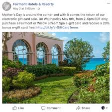 discount e gift cards fairmont gift card discount one mile at a time