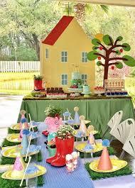 peppa pig birthday ideas peppa pig birthday party ideas birthday party tables pig