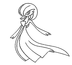 pokemon coloring pages gallade coloring pages pokemon gardevoir drawings pokemon