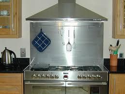 Stainless Steel Subway Tile Backsplash Modern  Great Home Decor - Stainless steel cooktop backsplash