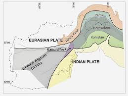 Plate Boundaries Map Causes Of Afghanistan And Pakistan Earthquake 2015