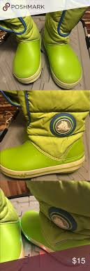 crocs light up boots croc boots kids croc boots light up size 3 crocs shoes boots my