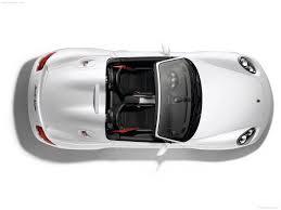 Car Plan View Porsche Boxster Spyder 2010 Pictures Information U0026 Specs