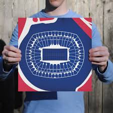 Metlife Stadium Map Metlife Stadium Map Art City Prints